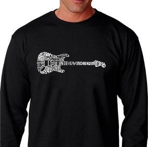 L.A. Pop Art NWT long sleeve guitar graphic tshirt